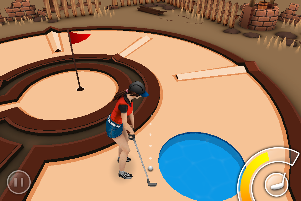 Screenshot Mini Golf Game 3D
