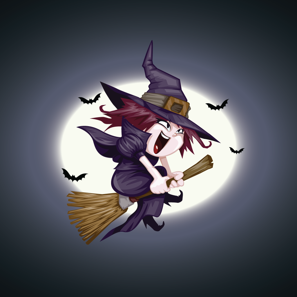 Broomstick Witch Adventure Game